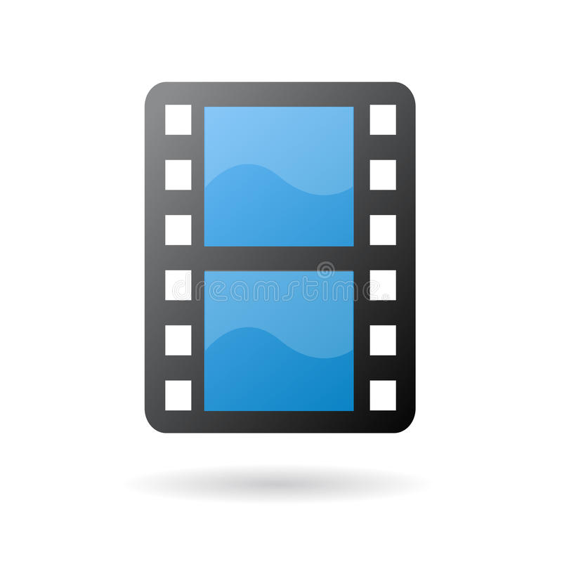 Graphisme de bande de film de film illustration libre de droits