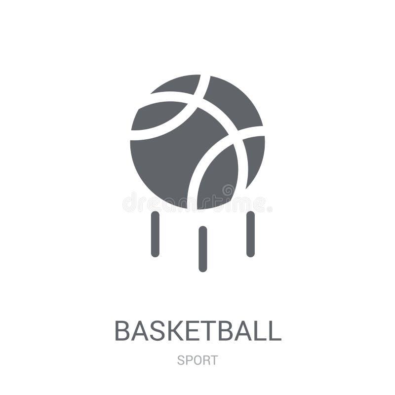 Graphisme de basket-ball  illustration de vecteur