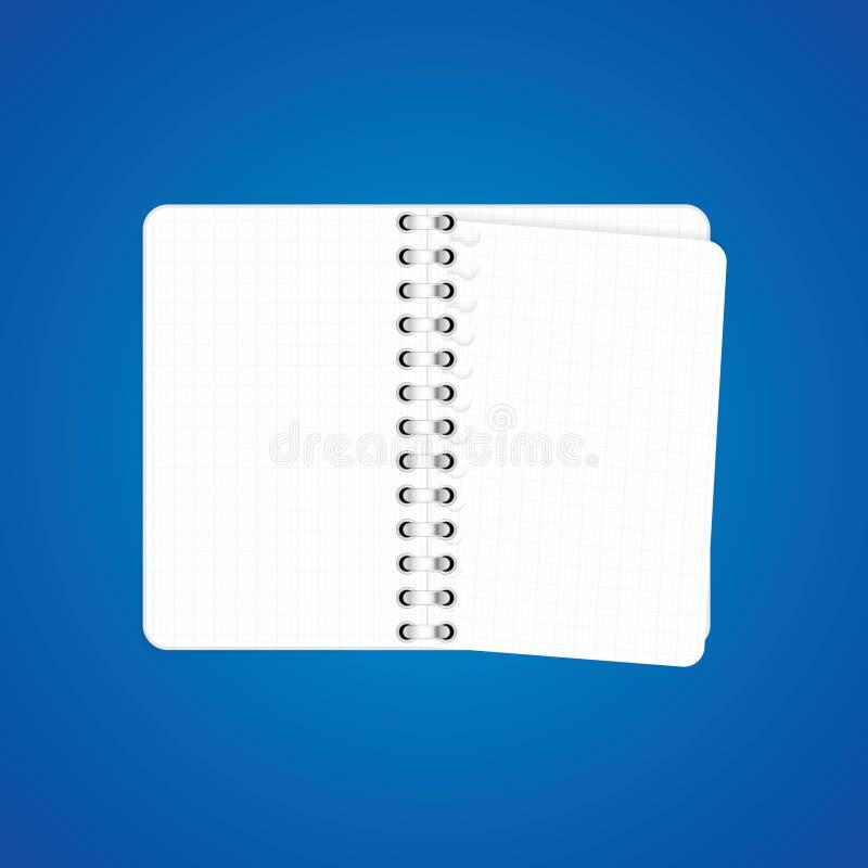 Graphisme de cahier illustration libre de droits