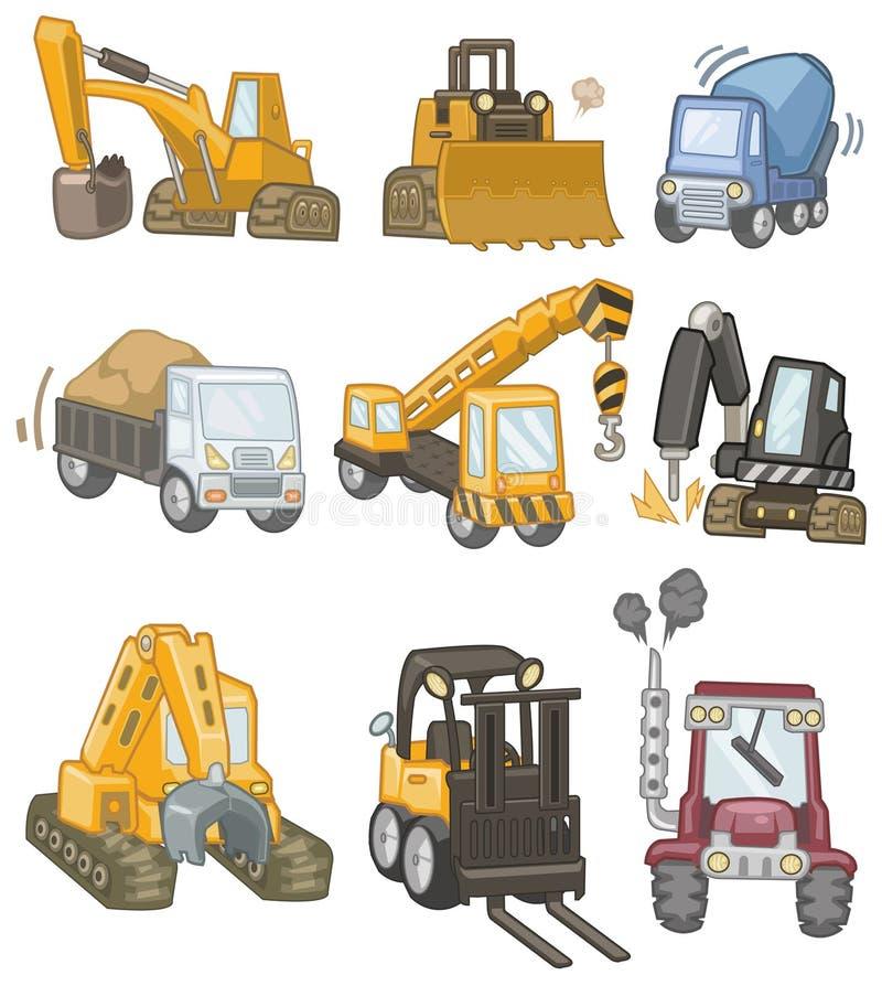 Graphisme de camion de dessin animé illustration libre de droits
