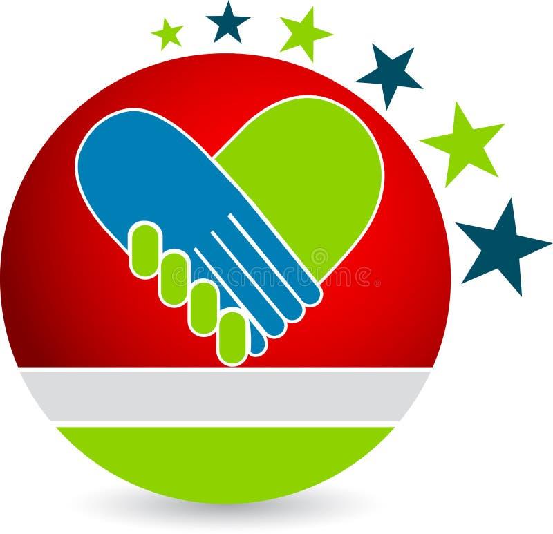 Graphisme de coeur illustration libre de droits