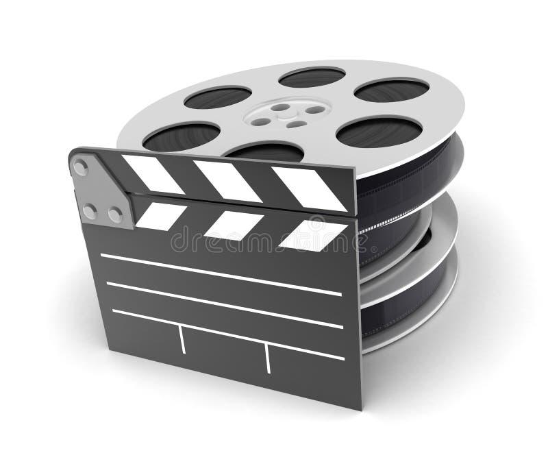 Graphisme de film illustration de vecteur