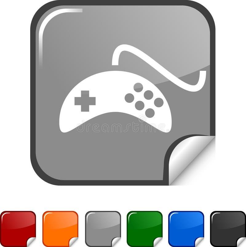 Graphisme de Gamepad. illustration stock