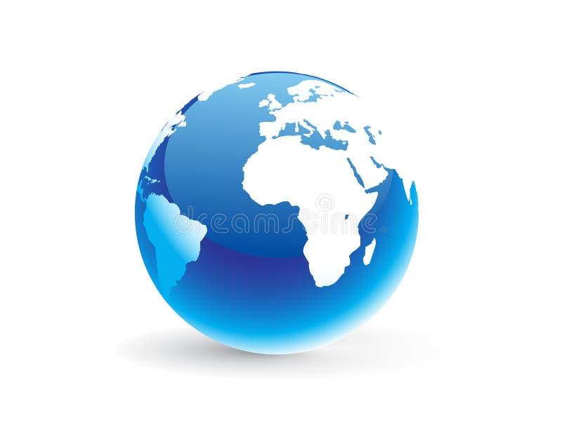 graphisme de globes illustration libre de droits