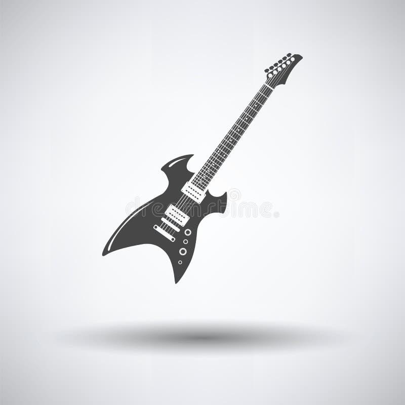 Graphisme de guitare électrique illustration stock