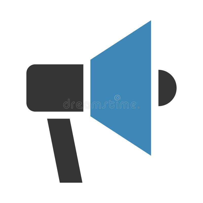 Graphisme de haut-parleur illustration stock