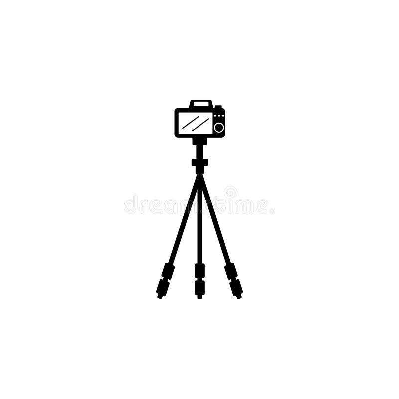graphisme de l'appareil-photo 3d Élément des icônes d'équipement de photo Icône de la meilleure qualité de conception graphique d illustration stock