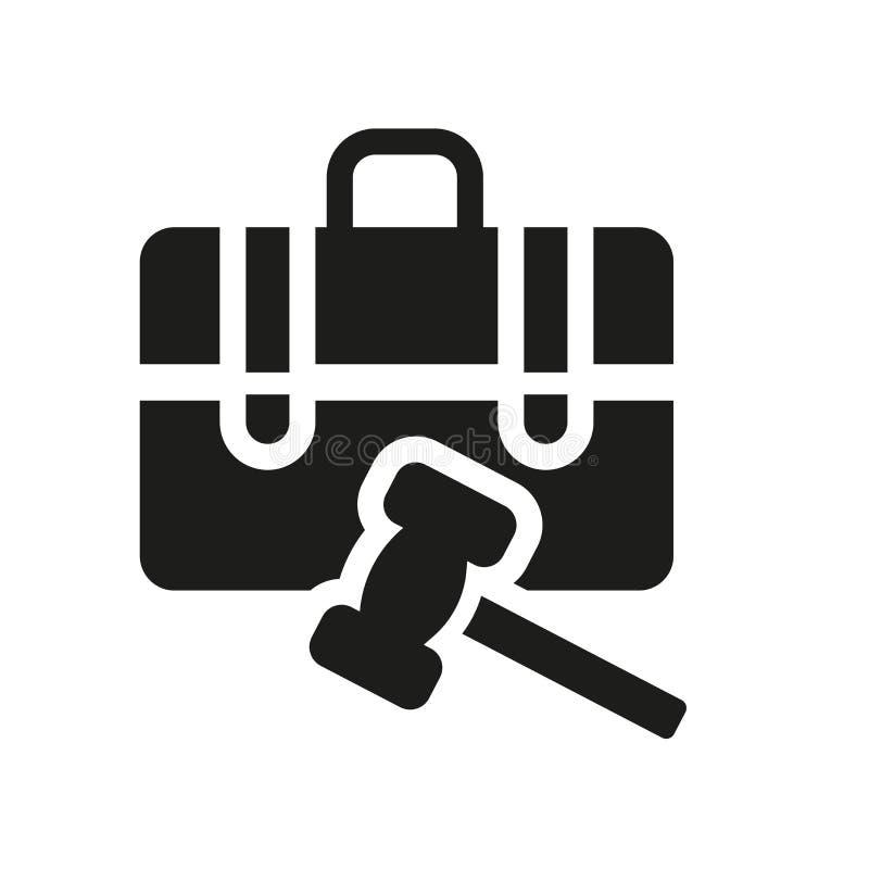 Graphisme de loi d'emploi  illustration libre de droits