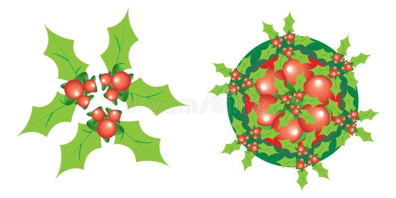Graphisme de Noël images libres de droits