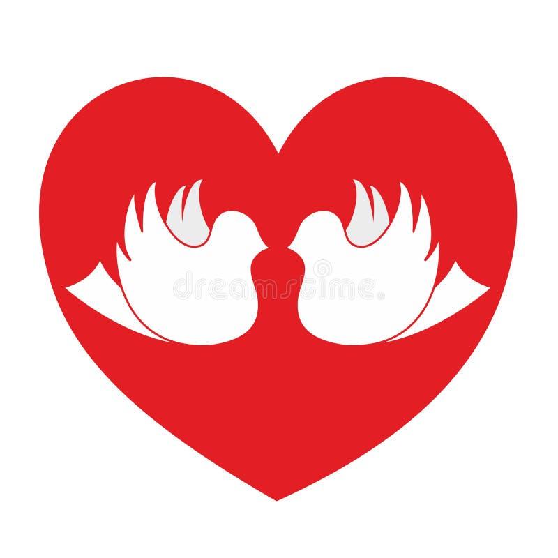 Graphisme de passion d'amour illustration de vecteur