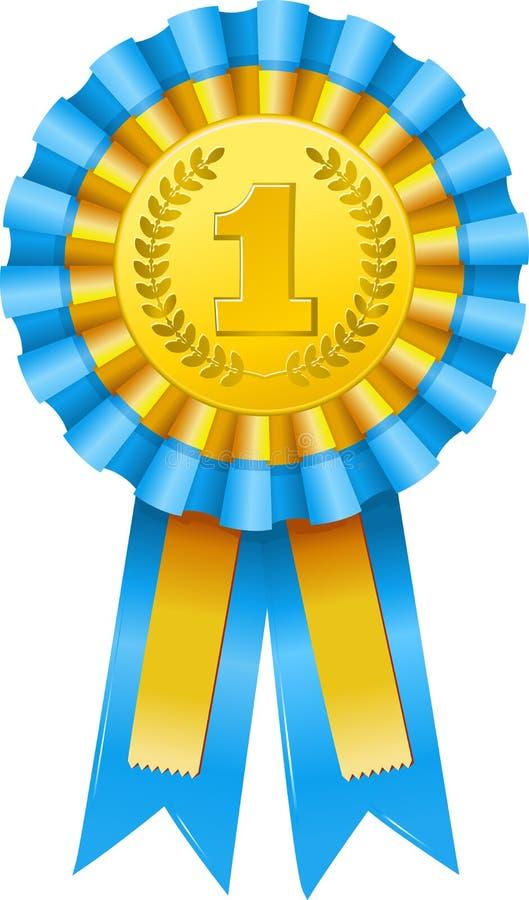 Graphisme de récompense de premier prix