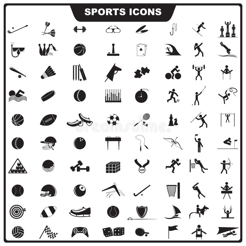 Graphisme de sport illustration de vecteur