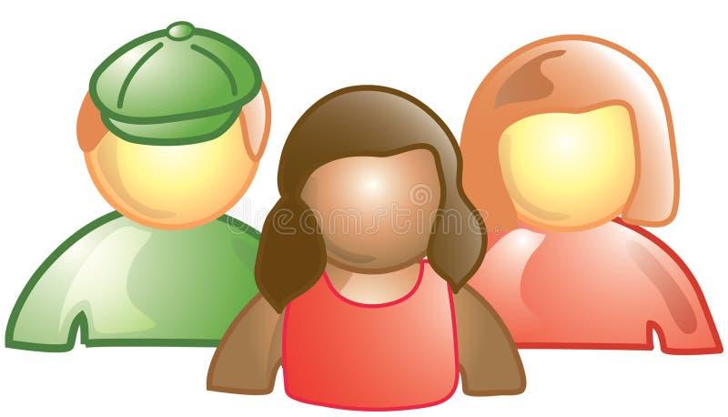 Graphisme de Students_group illustration libre de droits