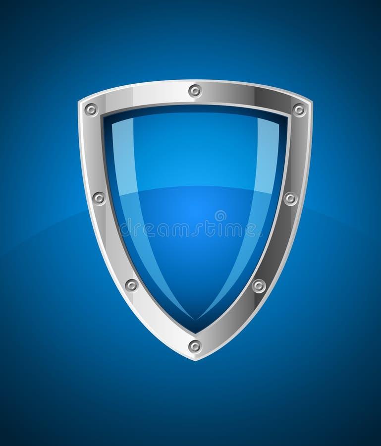 Graphisme de symbole d'écran protecteur de garantie illustration libre de droits