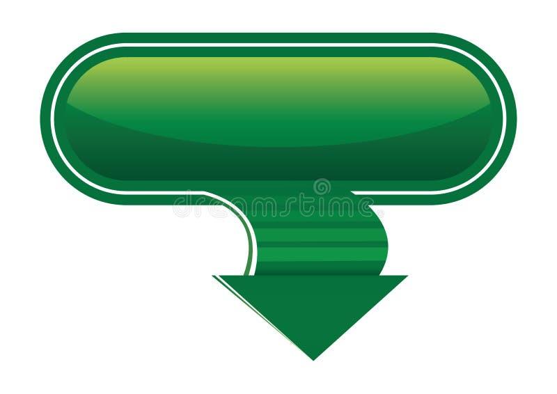 Graphisme de téléchargement illustration de vecteur