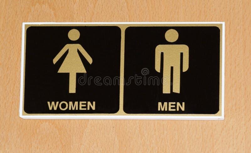 Graphisme de toilette photographie stock libre de droits