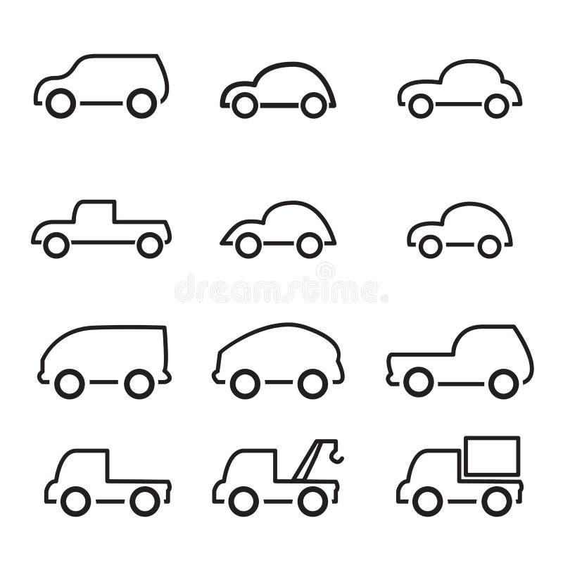 Graphisme de véhicule illustration stock