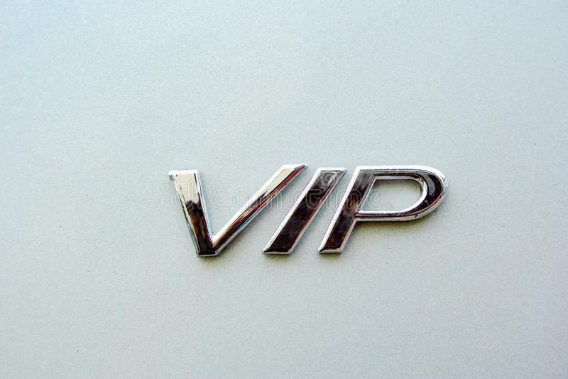Graphisme de VIP photos stock