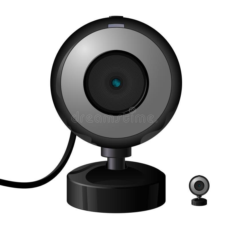 Graphisme de webcam illustration libre de droits