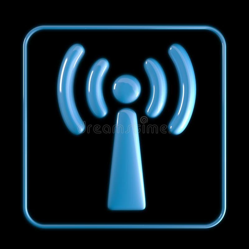 Graphisme de Wi-Fi illustration libre de droits