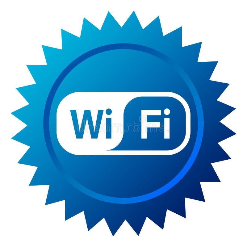 Graphisme de Wifi illustration stock
