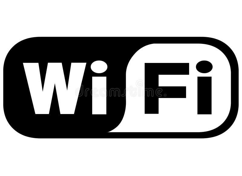 Graphisme de WiFi illustration libre de droits