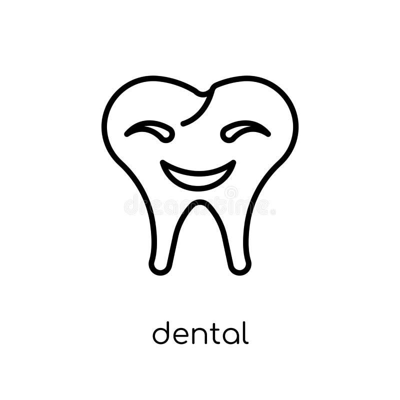 Graphisme dentaire  illustration stock