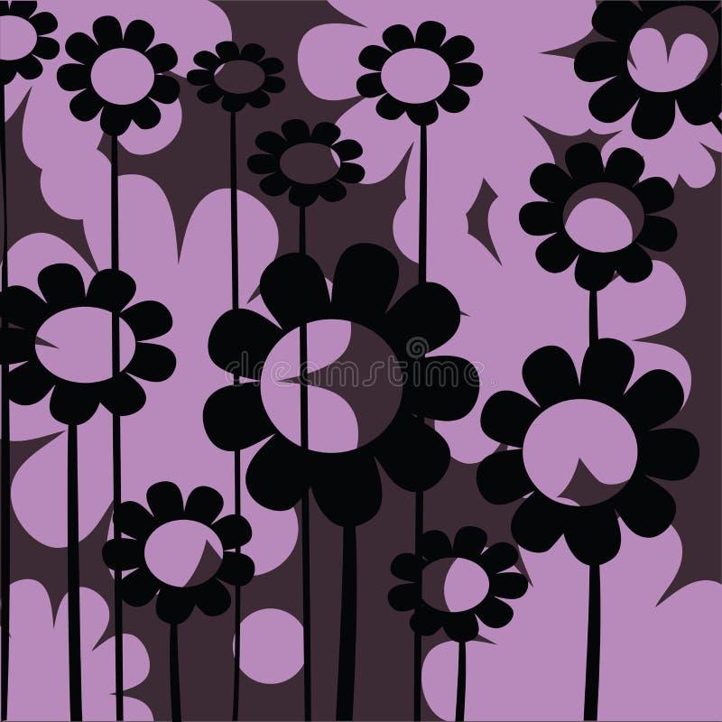 Graphisme floral pour le Web illustration de vecteur
