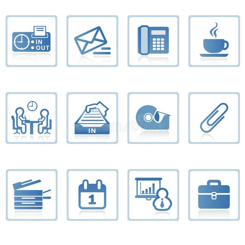 Graphisme I d'affaires et de bureau illustration de vecteur