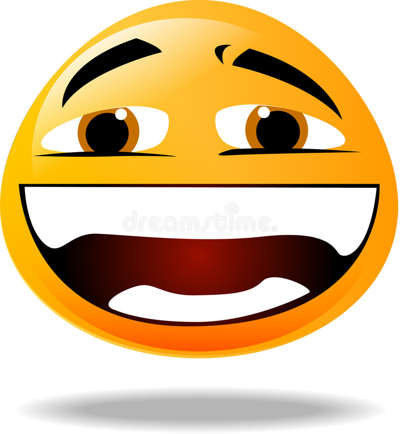 Graphisme souriant illustration de vecteur