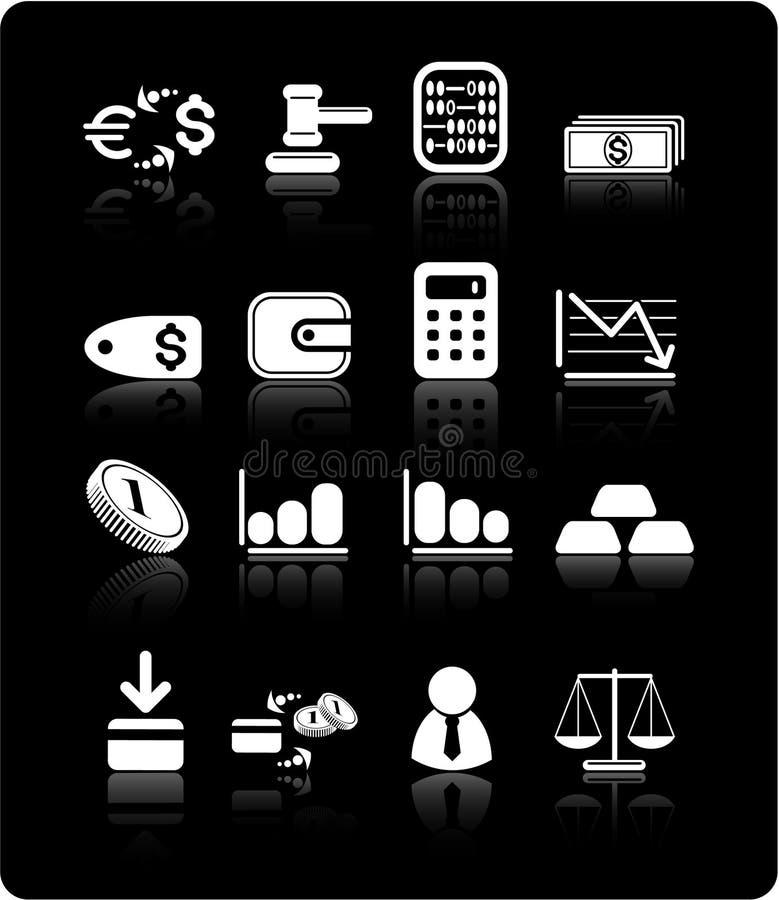 Graphismes d'argent illustration de vecteur