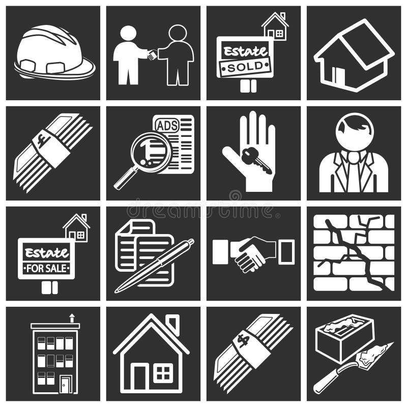 Graphismes d'immeubles illustration stock