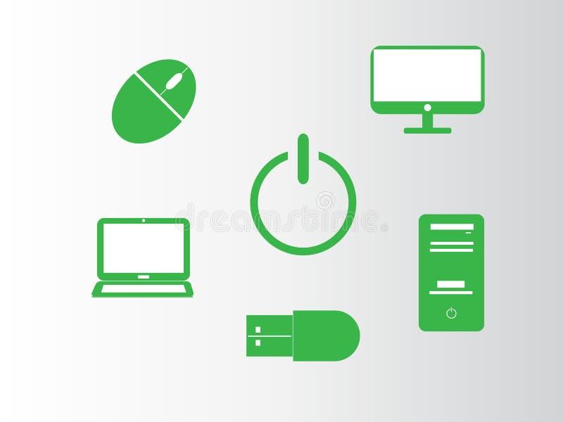 Graphismes d'ordinateur illustration de vecteur