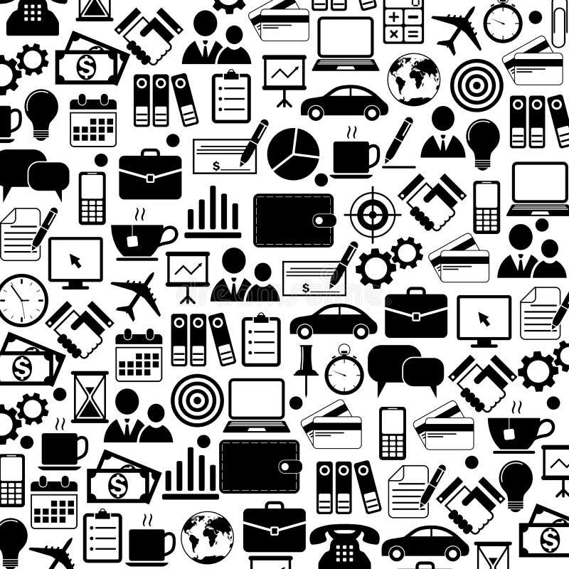 Graphismes de bureau et d'affaires illustration de vecteur