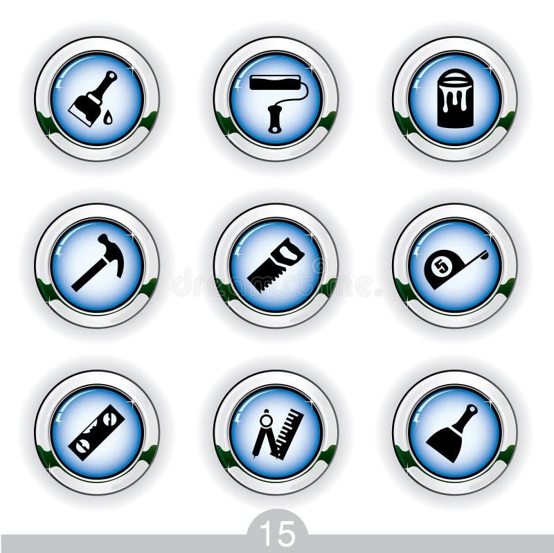 Graphismes de Diy illustration de vecteur