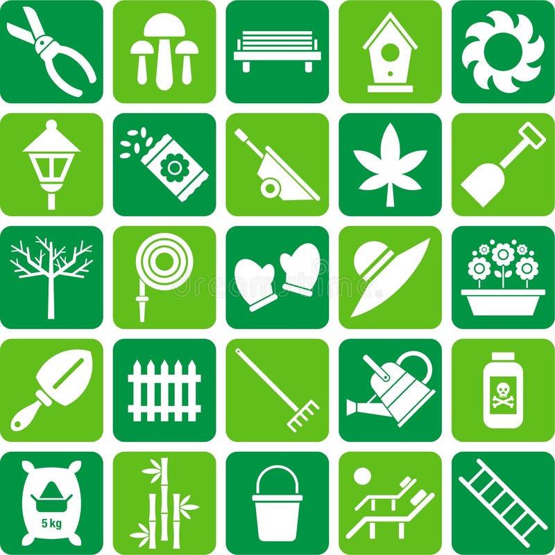 Graphismes de jardinage illustration libre de droits