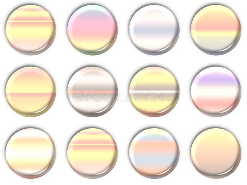 Graphismes de lentille illustration de vecteur