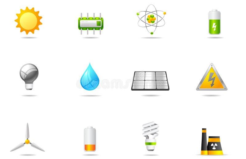 Graphismes de Philos - positionnement 14   Pouvoir et énergie illustration libre de droits