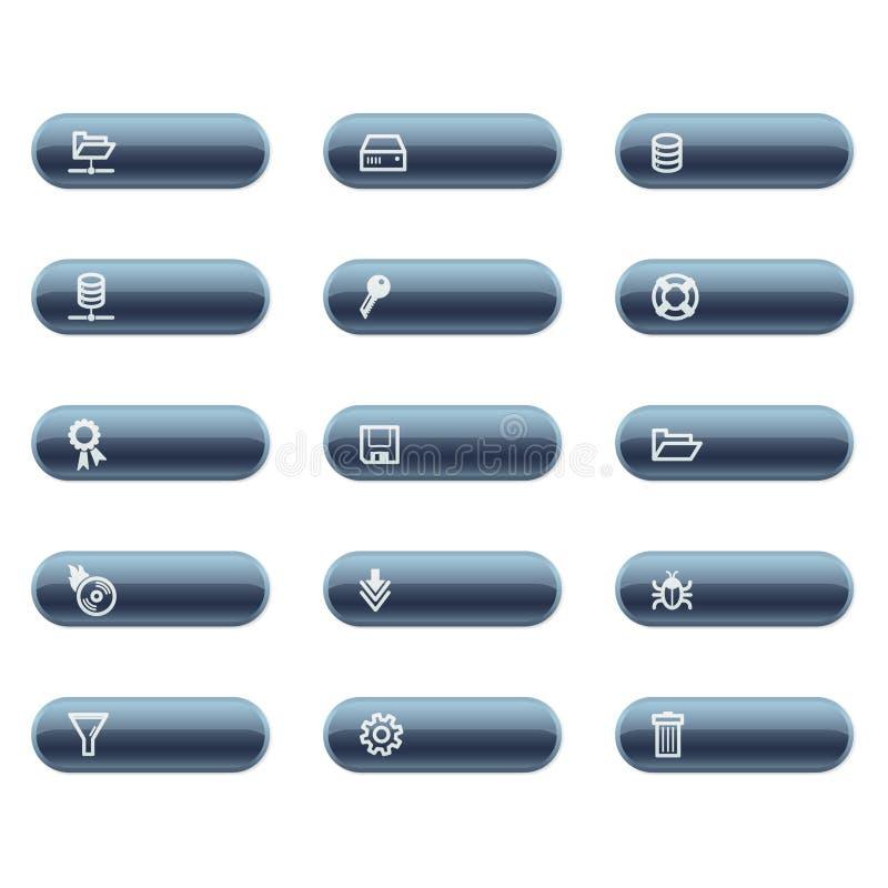 graphismes de serveur illustration stock