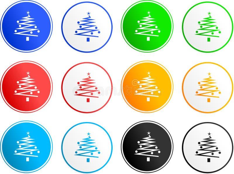 Graphismes de signe de Noël illustration libre de droits