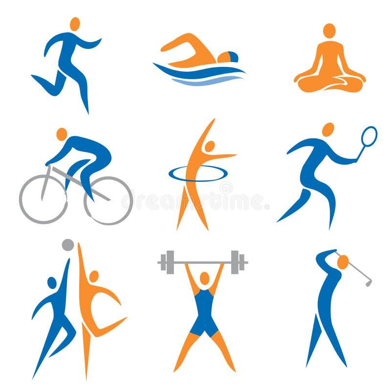 Graphismes de sport illustration libre de droits
