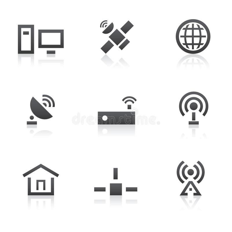 Graphismes de télécommunication mondiale