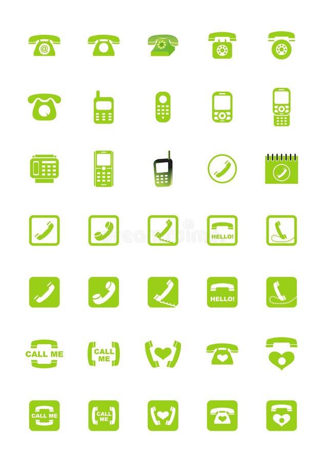 Graphismes de téléphone illustration de vecteur