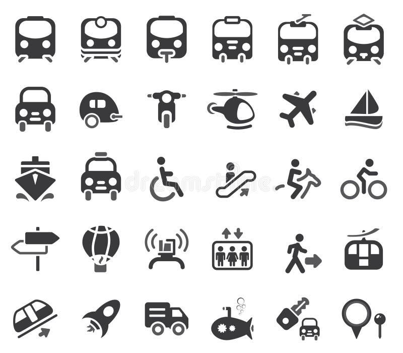 Graphismes de vecteur de transport illustration stock