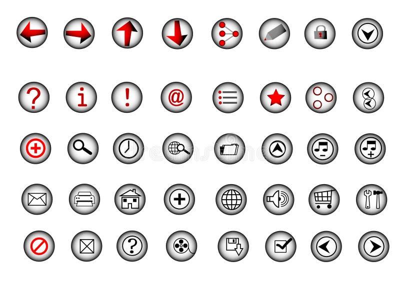 Graphismes de Web illustration libre de droits