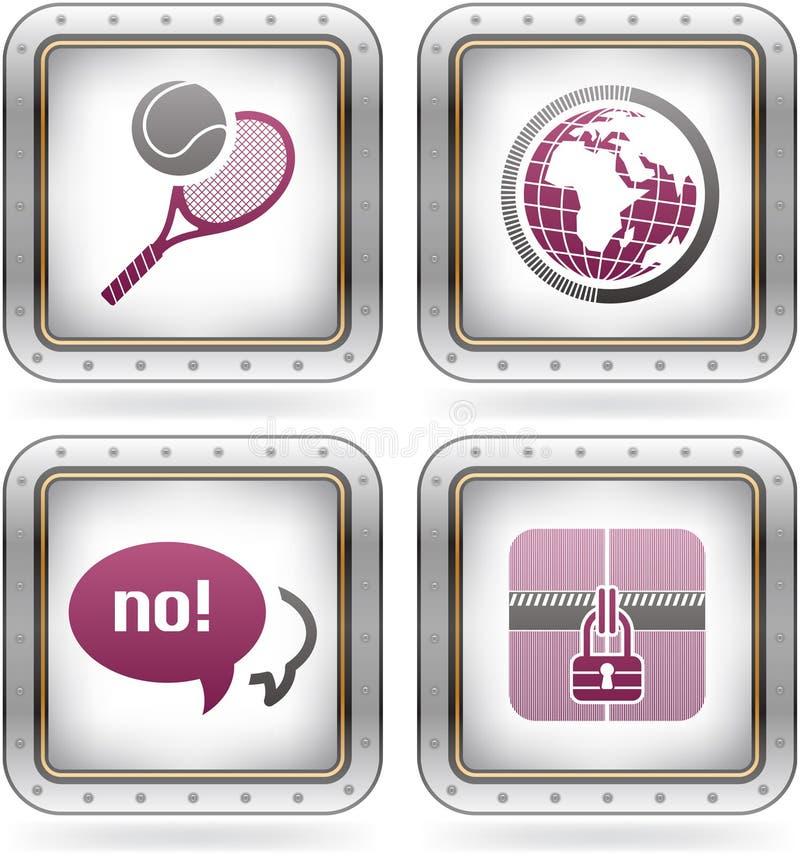 Graphismes divers d'Internet illustration libre de droits