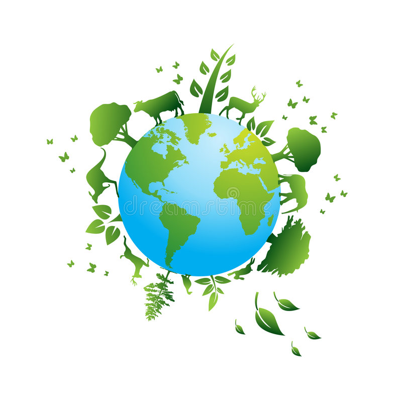 graphismes environnementaux illustration de vecteur