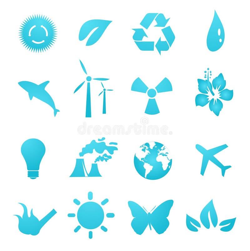 graphismes environnementaux d'éléments de conception illustration de vecteur