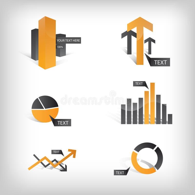 Graphismes graphiques/éléments d'information illustration libre de droits