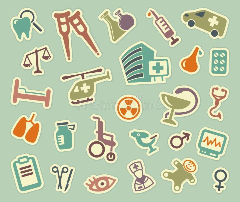 Graphismes médicaux Illustration de vecteur illustration de vecteur
